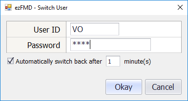Switch user dialogue box